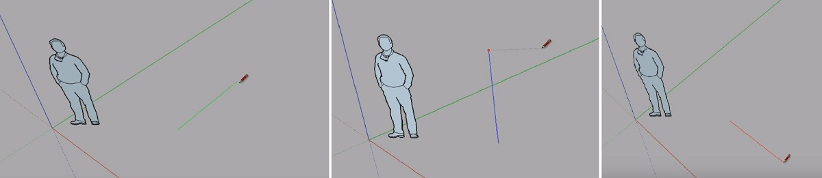 Bắt điểm trong SketchUp