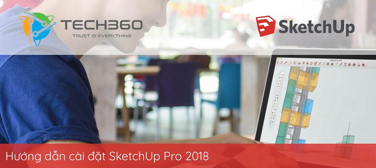 cách cài đặt SketchUp Pro 2018