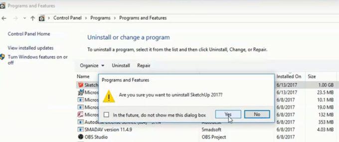 Huong dan go cai dat SketchUp ban quyen Windows