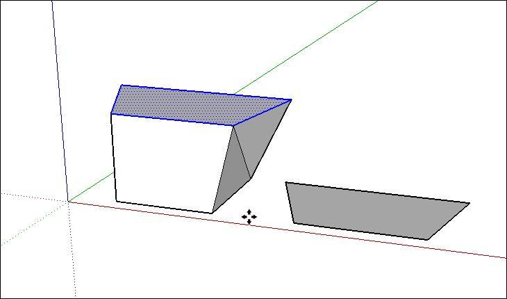 lệnh copy trong sketchup theo cách cơ bản