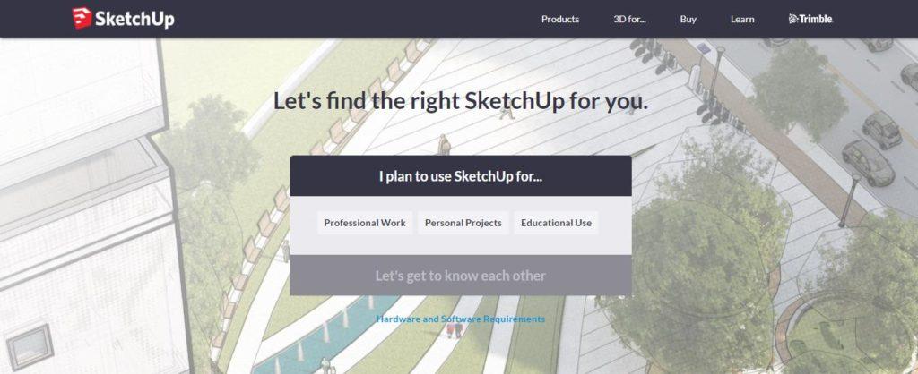 Tải SketchUp 2018 – Download SketchUp Pro 2018 FULL