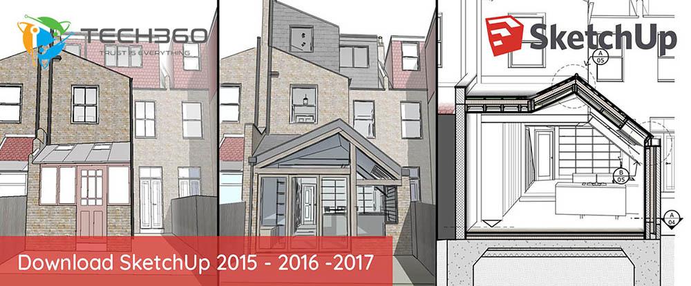 Tai SketchUp, tải SketchUp 2015, tải SketchUp 2016, tải SketchUp 2017