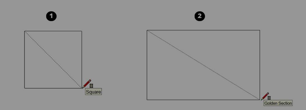 Hướng dẫn vẽ hình chữ nhật, hình vuông trong SketchUp