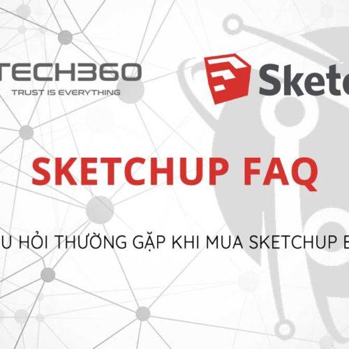 Những câu hỏi thường gặp khi mua sketchup bản quyền