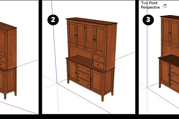 xem mô hình trong sketchup