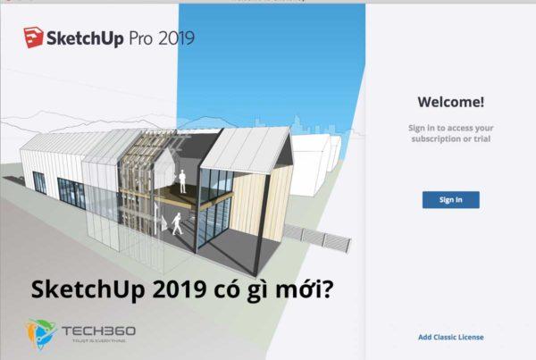 sketchup 2019 có gì mới